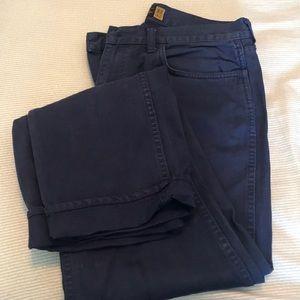 Jcrew Garment Dyed Denim